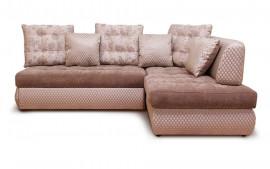 Угловой диван «Бриз» с оттоманкой