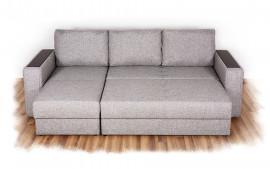 Угловой диван «Норд» с оттоманкой