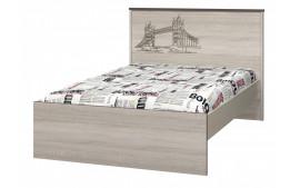 """Кровать 1200 с настилом """"Хэппи"""""""