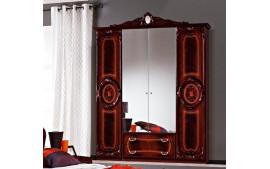 """Шкаф 4-х дверный с зеркалом """"Роза"""""""