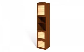 Шкаф-пенал для книг ИД 01.81