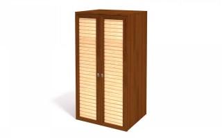 Шкаф для одежды 2х дв. ИД 01.136