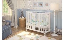 """Кровать детская овальная """"Эстель"""""""
