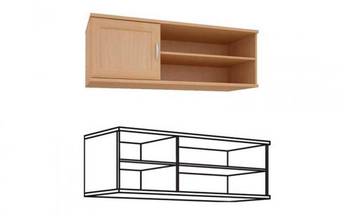 Лира 1256 Шкаф навесной