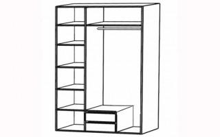 """Шкаф для одежды """"Элен"""""""