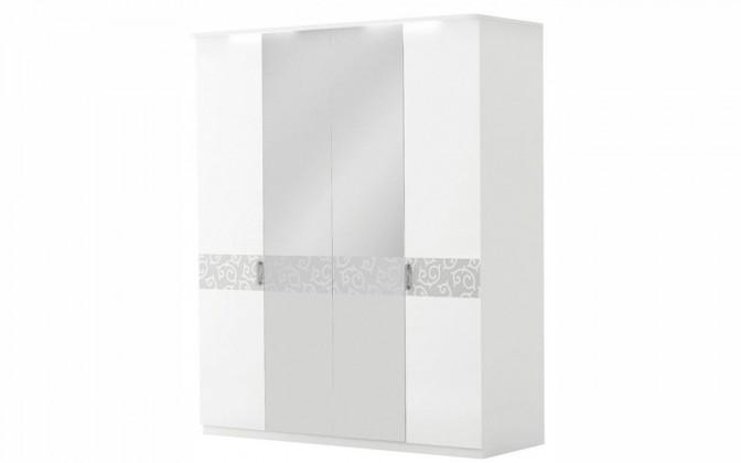 """Шкаф 4-х дверный с зеркалом """"Белла"""""""