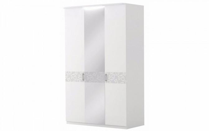 """Шкаф 3-х дверный с зеркалом """"Белла"""""""