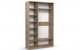 Шкаф 3-х створчатый «Дуэт Люкс»