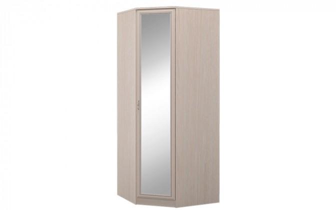 """Шкаф для платья и белья угловой с зеркалом """"Верона"""""""