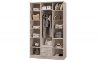 """Шкаф 3-х дверный с ящиками (с зеркалом) """"Верона"""""""