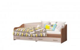 """Кровать-софа одинарная с 2 ящиками """"Вояж"""""""