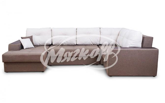 Угловой диван «Эдинбург» с оттоманкой
