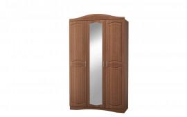 "Шкаф 3-дверный с зеркалом ""Виола 2 Браун"""