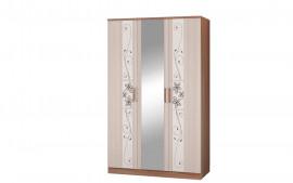 """Шкаф 3-х дверный для платья и белья """"Виола 3"""""""