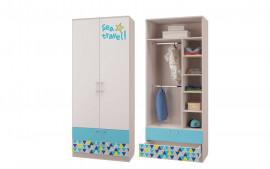 """Шкаф для одежды с ящиками """"Джимми"""""""