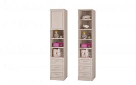 """Шкаф для книг с ящиками и дверкой """"Верона"""""""