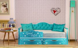 """Кровать детская 800 """"Ноктюрн"""""""