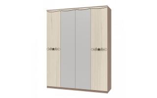 "Шкаф для белья 4х дв. ""Жасмин"""