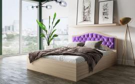 Кровать Дели (сирень)