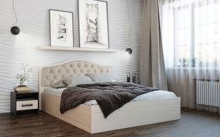 Кровать Дели (карамель)