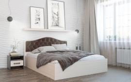 Кровать Дели (шоколад)