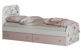 """Кровать детская 800 """"Малибу"""" с ящиками КР-10"""