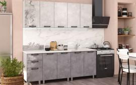Кухня Bon Appetit Серый Камень 2.0