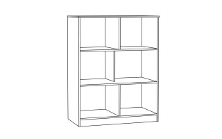 "Шкаф для одежды ""Гудвин"" 13.135"